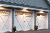 Courtyard Collection Garage Doors